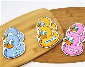 Baby Duck Sugar Cookies