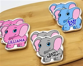Wicked Elephant Sugar Cookies