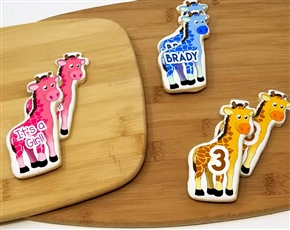 Wicked Giraffe Sugar Cookies