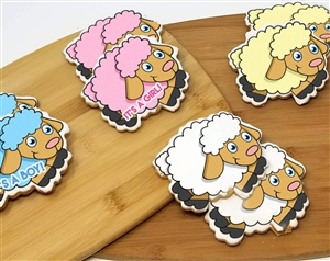 Sheep Sugar Cookies
