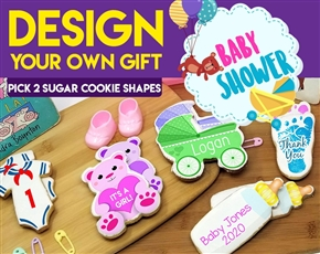 Design a Baby Sugar Cookie Gift