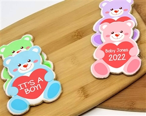 Baby Bear Sugar Cookies
