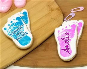Baby Foot Sugar Cookies