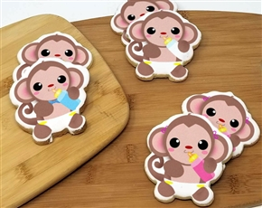 Baby Monkey Sugar Cookies
