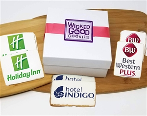 2x4 Rectangle Logo Sugar Cookie Gifts