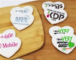 Heart Logo Sugar Cookie