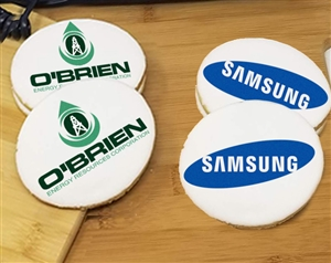 Oval Logo Sugar Cookies
