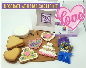 Decorate at Home Cookie Kit - Anniversary