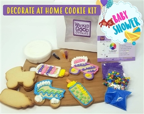 Decorate at Home Cookie Kit - Baby Shower
