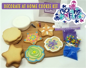 Decorate at Home Cookie Kit - Oceans of Fun