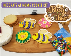 Decorate at Home Cookie Kit - Busy Bees