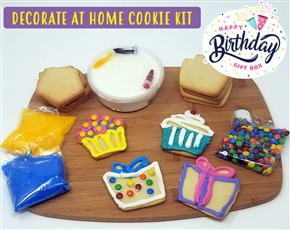 Decorate at Home Cookie Kit - Birthday