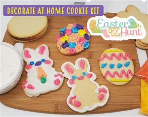 Decorate at Home Cookie Kit - Easter Egg Hunt
