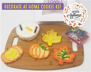 Decorate at Home Cookie Kit - Fall Time