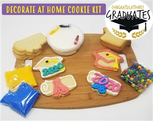 Decorate at Home Cookie Kit - Graduation