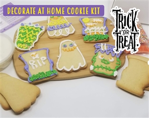Decorate at Home Cookie Kit - Trick or Treat
