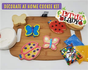 Decorate at Home Cookie Kit - Little Lady