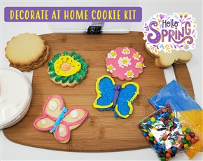 Decorate at Home Cookie Kit - Spring Time
