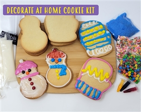 Decorate at Home Cookie Kit - Winter Fun