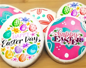 Easter Egg Collection Sugar Cookies