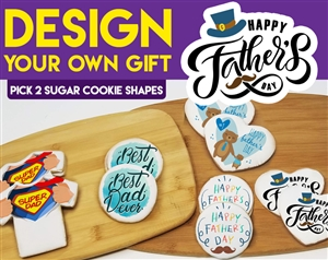DYO Father's Day Sugar Cookie Gift Box