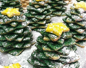 """Star Stack"" Holiday Sugar Cookie Gift"