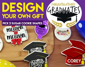 Design a Graduation Sugar Cookie Gift