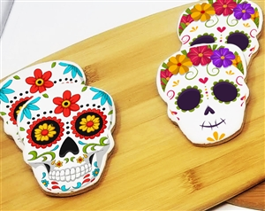 Day of the Dead Skull Sugar Cookies