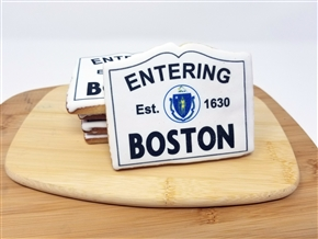 "Enter ""City"" Sign Sugar Cookies"
