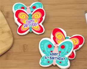 Butterfly Spring Time Sugar Cookies