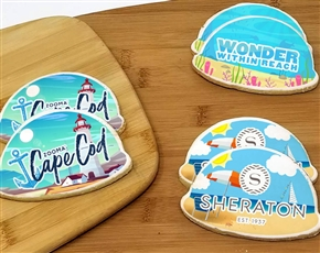 Beautiful Spring Day Logo Cookie Favor