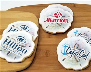Sand Dollar Logo Sugar Cookies