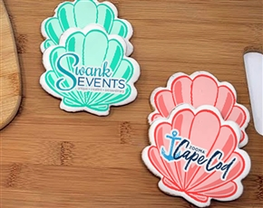 Seashell Logo Sugar Cookies