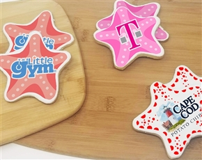 Starfish Logo Sugar Cookies