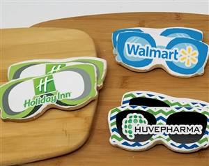Sunglasses Logo Sugar Cookies
