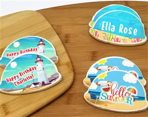 Summer Time Beach Sugar Cookies Favor