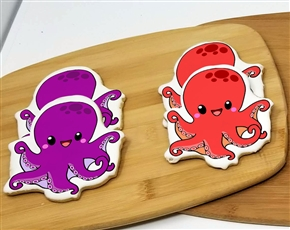 Octopus Sugar Cookies