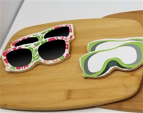 Sunglasses Sugar Cookies