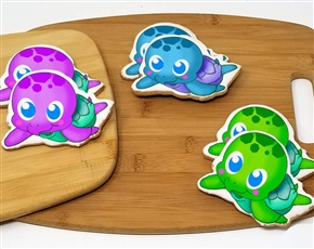 Sea Turtle Sugar Cookies