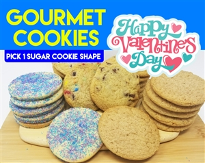Design a Valentine's Day Gourmet Cookie Gift