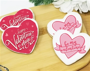 Valentine's Day Heart Sugar Cookie | Wicked Good Cookies | Personalized Gifts, Gourmet Cookies, Cookie Favors, Creative Holiday Gifts, Custom Logo Cookies, and Fund Raising Cookies