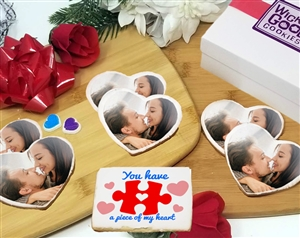 Piece of My Heart - Photo Cookie Heart Gift Box