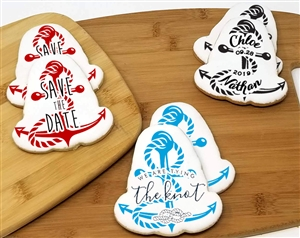 Wedding Anchor Sugar Cookies