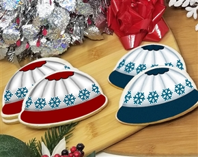 Winter Hat Sugar Cookies