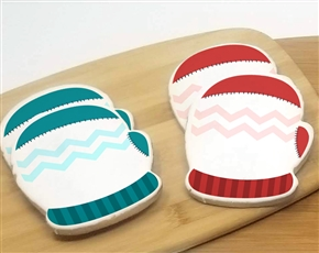 4'' Large Mitten Sugar Cookies