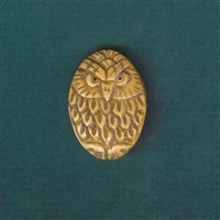 The Scholarly Owl Bead