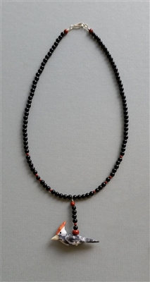 Photo of The Wily Woodpecker Necklace Kit