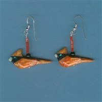 Cardinal Calls Earrings Kit