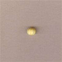 Bone Bead - Carved Melon - 10mm