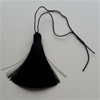 Photo of Pure Silk Black Tassel